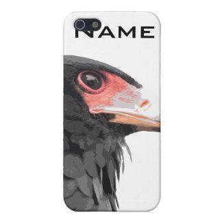 African Bateleur Eagle Wildlife Art iPhone 5 Case