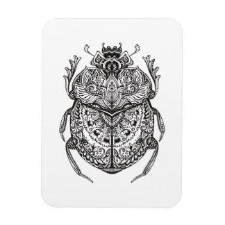 African Beetle Zendoodle Magnet