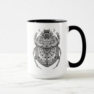 African Beetle Zendoodle Mug
