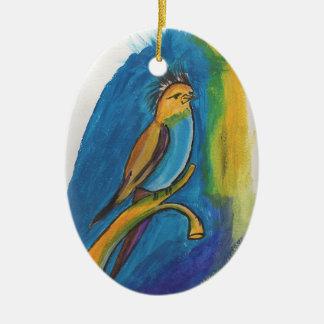 African Bird Christmas Ornament