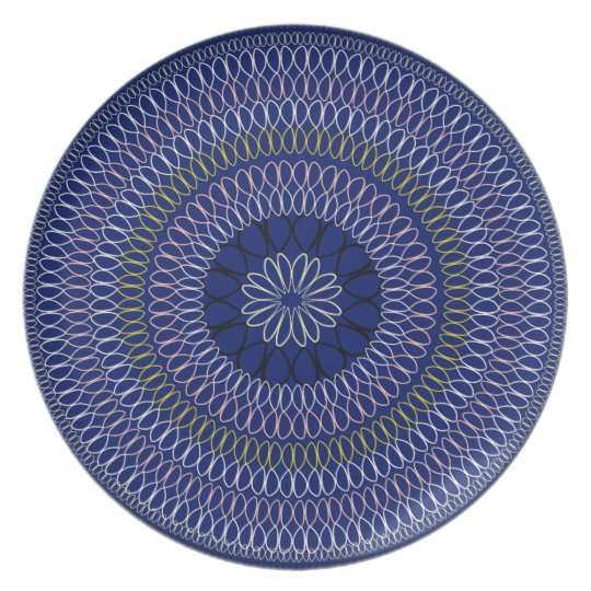 African Boho Collection - Full Circle Plate