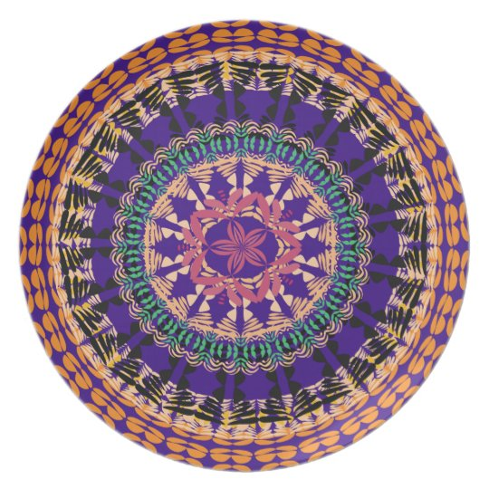 African Boho Collection - The Market Plate