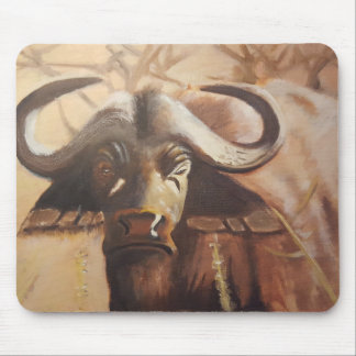 African Buffalo Mouse pad