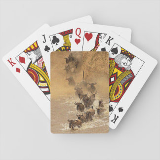 African Buffalo Playing Cards