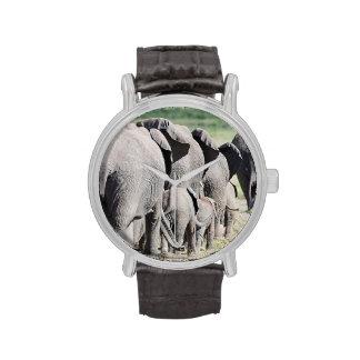 African Bush Elephant (Loxodonta Africana) 4 Wristwatch