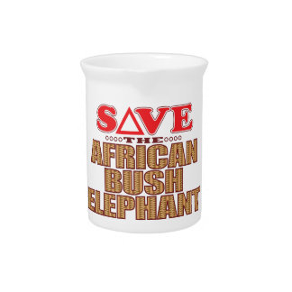 African Bush Elephant Save Pitcher