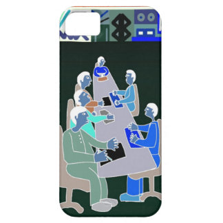 African business meeting barely there iPhone 5 case