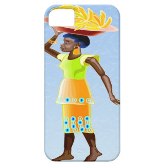African carrying bananas case for the iPhone 5