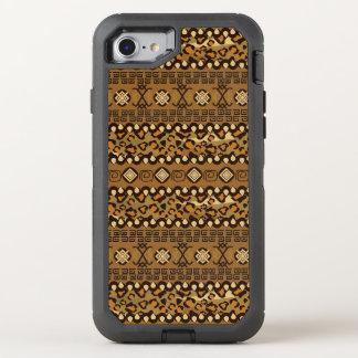 African cheetah skin pattern 2 OtterBox defender iPhone 8/7 case