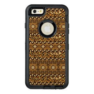 African cheetah skin pattern 2 OtterBox defender iPhone case