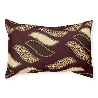 African cheetah skin pattern 2 pet bed