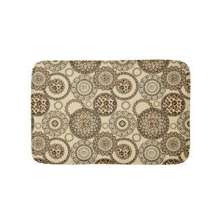 African cheetah skin pattern 3 bath mat