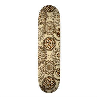 African cheetah skin pattern 3 skateboard decks