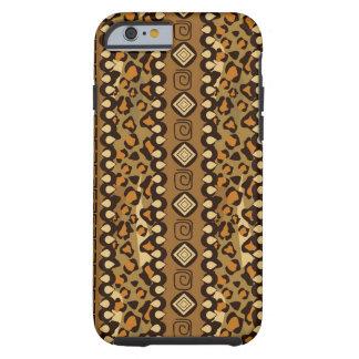 African cheetah skin pattern tough iPhone 6 case
