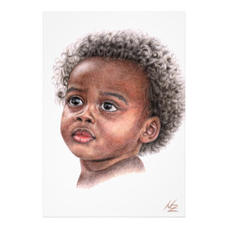 African Child Photo Print