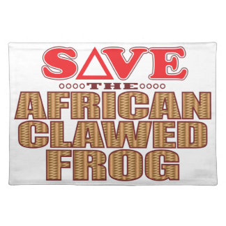 African Clawed Frog Save Placemat