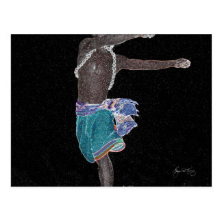 African Constellation Postcard