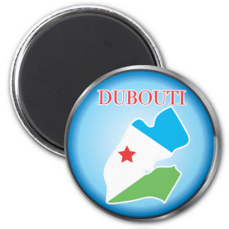 African country buttons magnet