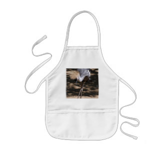 African Crowned Crane Kids Apron