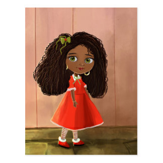 African cute girl Postcard