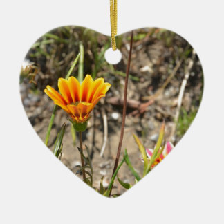 African Daisy Christmas Ornament