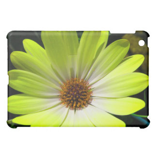African Daisy Fluorescent Yellow  Cover For The iPad Mini