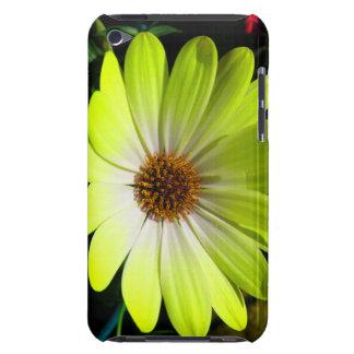 African Daisy Fluorescent Yellow iPod Case