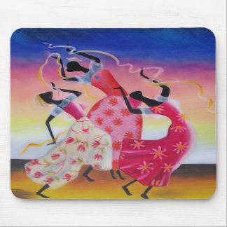 African Dancing Woman Mousepad