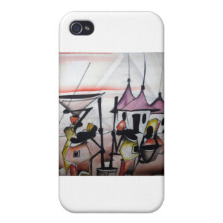 African Decor and Wear Case For iPhone 4