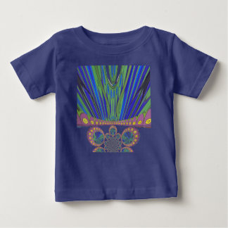 African decorative pattern modern design colors baby T-Shirt