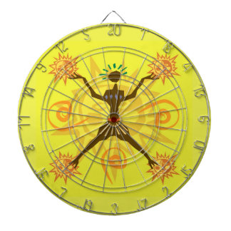 African design dartboard