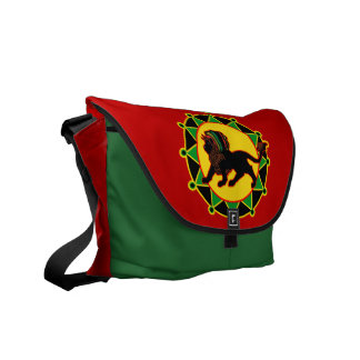 African Diamonds Jah King messenger bag