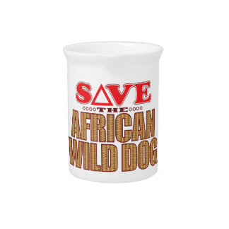 African Dog Save Pitcher