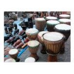 African drums 1 postcards