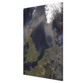 African dust blowing over Scotland Canvas Print