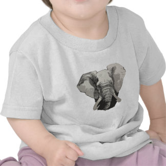 African elephant 2 t shirts