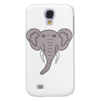 African Elephant Galaxy S4 Covers
