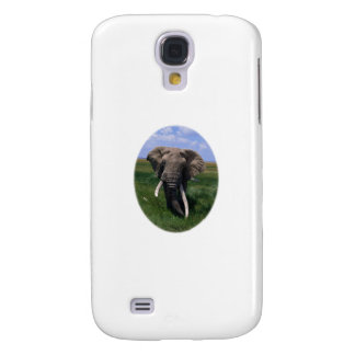 African Elephant Samsung Galaxy S4 Covers