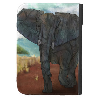 African Elephant Caseable Case Cases For Kindle