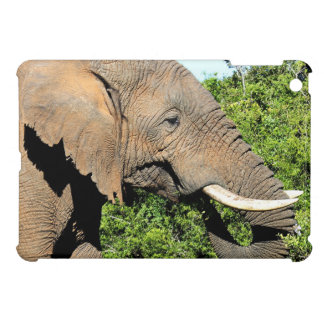 African Elephant eating iPad Mini Cases