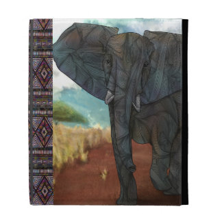 African Elephant iPad Caseable Case iPad Cases