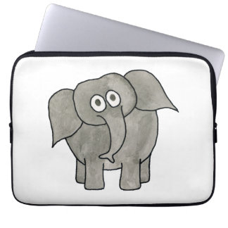 African Elephant Laptop Computer Sleeve