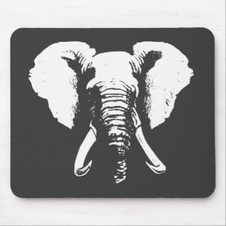 African Elephant Mouse Mat