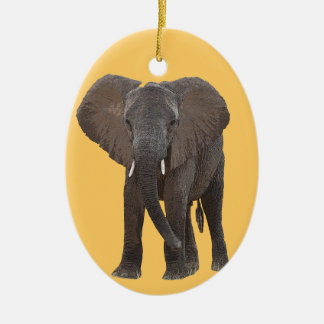 African Elephant Ornament