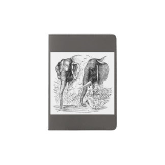 African Elephant Passport Holder