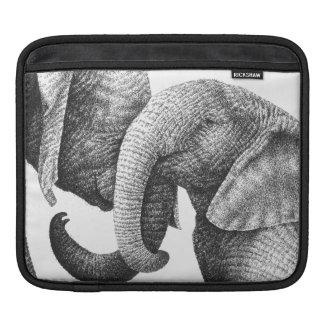 African Elephant Rickshaw Sleeve