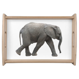 African elephant serving tray