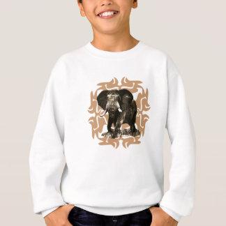 African Elephant Sweatshirt