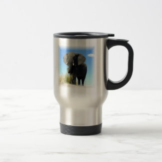 African Elephant Travel Mug