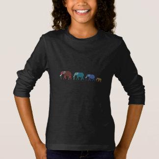 African Elephant Walk T-Shirt